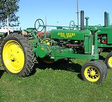 Old John Deer Tractor by PaulineHoward