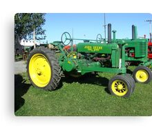 Old John Deer Tractor Canvas Print