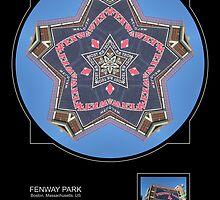 FENWAY PARK, BOSTON MA. by PhotoIMAGINED