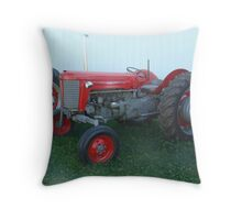 Antique Massey Ferguson 65 Throw Pillow