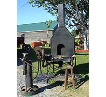Antique Black Smith Equipment Photographic Print