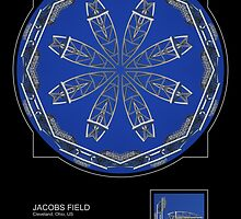 JACOBS FIELD, CLEVELAND OH. by PhotoIMAGINED