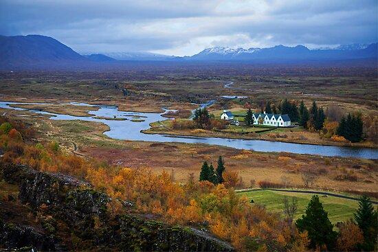 Þingvellir National Park by Béla Török