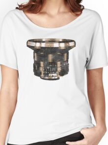 Retro Manual Focus Lens photographer Women's Relaxed Fit T-Shirt