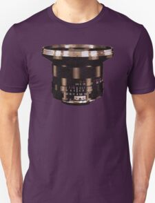 Retro Manual Focus Lens photographer Unisex T-Shirt