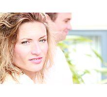 Blonde Exposure Photographic Print