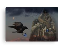 Crows Castle Canvas Print