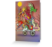 Fantasticated Transportation Authority Greeting Card