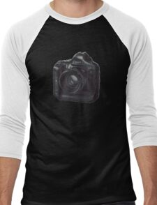 Dreamer Camera Photographer Men's Baseball ¾ T-Shirt