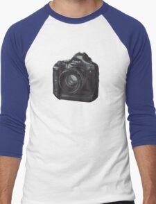 Dreamer Camera Photographer Men's Baseball ¾ T-Shirt