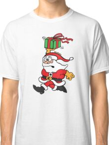 Santa Claus in a Hurry Classic T-Shirt