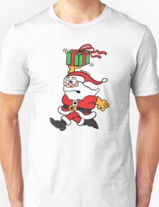 Santa Claus in a Hurry T-Shirt