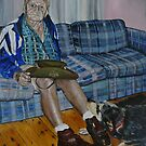 Portrait of Toby  by Wayne Dowsent
