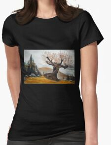 Whomping Willow :) Womens Fitted T-Shirt