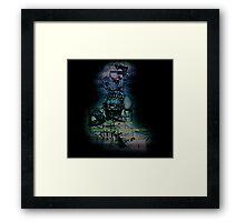 Glitch Girl Framed Print