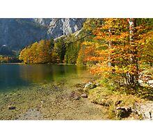 Fall at the Lake Photographic Print