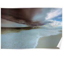 Storm over Indian Ocean Poster