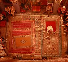Carpet sellers in Morocco by Georgina Steytler