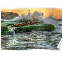 Turimetta Big Splash Poster