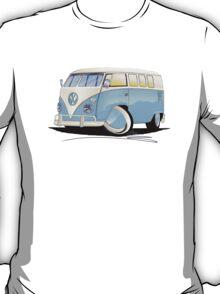 VW Splitty (11 Window) Pale Blue T-Shirt