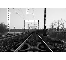 Down The Line Photographic Print