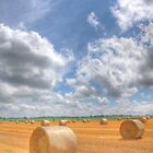 Hay Bales Forever by John-Paul Fillion
