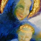 Madonna and child (detail) by Elizabeth Moore Golding