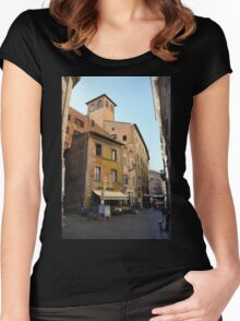 Latin Lanes Women's Fitted Scoop T-Shirt