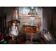 Children - Toy - A little girls room  Photographic Print