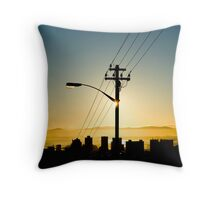 Wired Cape Town 1 Throw Pillow