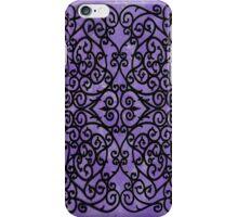 Wrought Purple iPhone Case/Skin