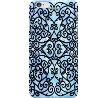 Wrought Blue iPhone Case/Skin