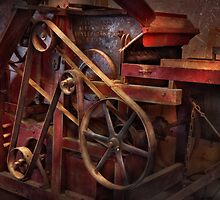 Steampunk - Gear - Belts and Wheels  by Mike  Savad