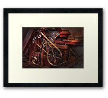 Steampunk - Gear - Belts and Wheels  Framed Print