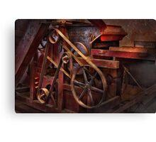 Steampunk - Gear - Belts and Wheels  Canvas Print