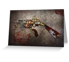Steampunk - Gun - The sidearm Greeting Card