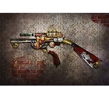 Steampunk - Gun - The sidearm Photographic Print