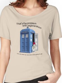 Regeneration problems for the Doctor Women's Relaxed Fit T-Shirt