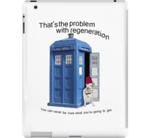 Regeneration problems for the Doctor iPad Case/Skin