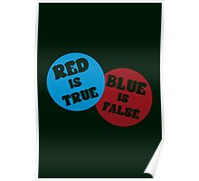 True or False (Dark Version) Poster