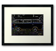 Cartoon Camper Framed Print
