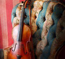 Music - Violin - Musical Elegance  by Mike  Savad