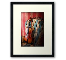 Music - Violin - Musical Elegance  Framed Print
