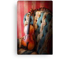 Music - Violin - Musical Elegance  Canvas Print