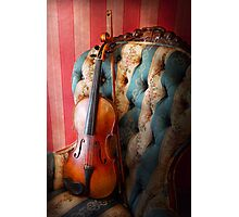 Music - Violin - Musical Elegance  Photographic Print