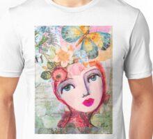 Butterfly girl Unisex T-Shirt
