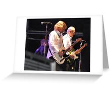 Francis Rossi and Rick Parfitt of Status Quo Greeting Card