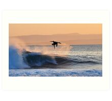 Ariel Surfer Art Print
