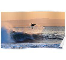 Ariel Surfer Poster