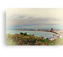 Ferry Land Canvas Print
